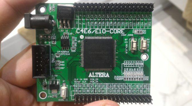Как перепаять TQFP 144 микросхему с теплоотводом (замена EP4CE10 на EP4CE22)