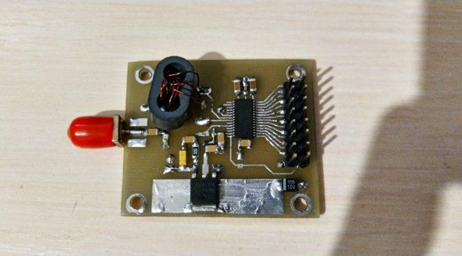 Строим цифровой DDC/DUC трансивер своими руками (часть 3)