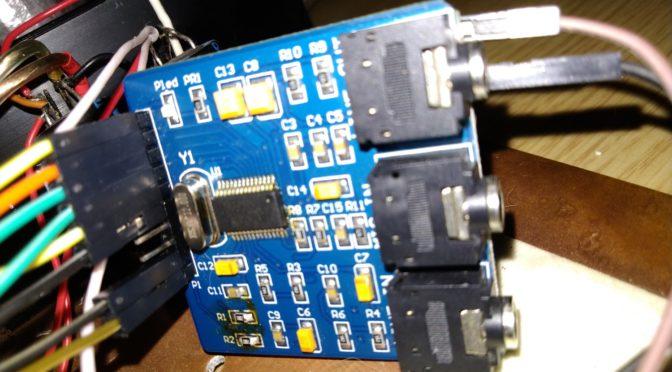 DUC-DDC Трансивер UA3REO: доработка кодека WM8731