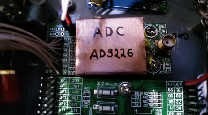 DUC-DDC Трансивер UA3REO: доработка АЦП AD9226