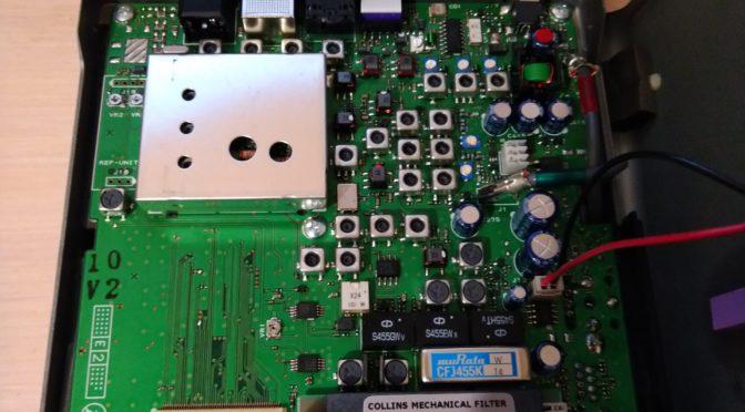 Установка дополнительного фильтра в Yaesu FT-818/FT-817