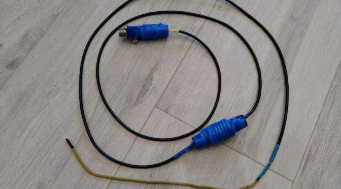 Походная УКВ антенна: коллинеарная «Верёвка»