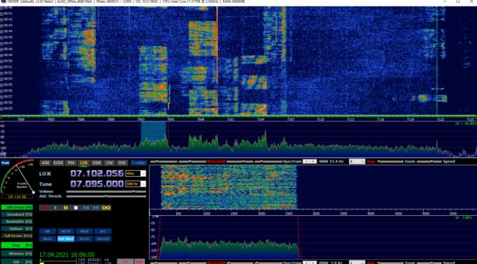 Как связать трансивер «Волк» с программой HDSDR